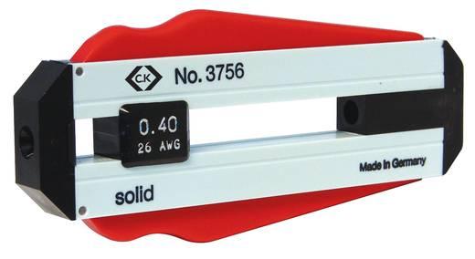 Drahtabisolierer Geeignet für PVC-Drähte, PTFE-Drähte 0.30 mm (max) C.K. T3756 30