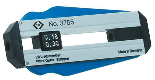 Drahtabisolierer Geeignet für Glasfaserkabel 0.18 mm (max) C.K. T3755 018