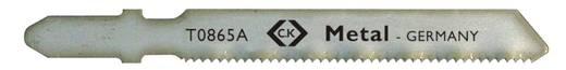 Stichsägeblatt HSS, für Metall, fein, 5 St. auf Karte C.K. T0865A 1 St.