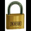 Cadenas Kasp K12525 or-jaune avec serrure à clé