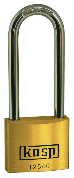 Cadenas Kasp K12540L40 or-jaune avec serrure à clé