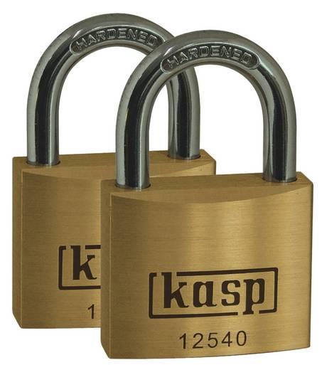Vorhängeschloss 40 mm Kasp K12540D2 Gold-Gelb Schlüsselschloss
