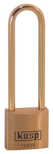Vorhängeschloss 30 mm Kasp K12530L70BD Gold-Gelb Schlüsselschloss