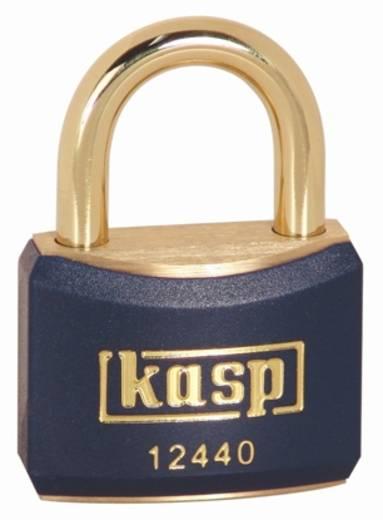 Kasp K12440BLUA1 Vorhängeschloss 40 mm Gold-Gelb Schlüsselschloss