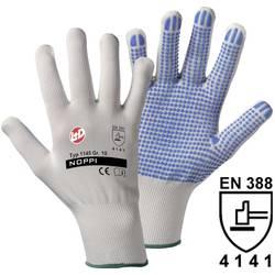 Pracovní rukavice Worky Noppi, 1145, jemně pletené, vel. 10