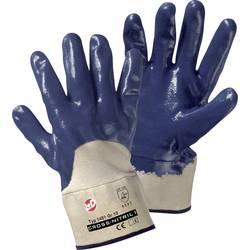 Pracovní rukavice L+D Cross-Nitril1 1451, Nitrilový kaučuk, částečně potažený, velikost rukavic: 10, XL