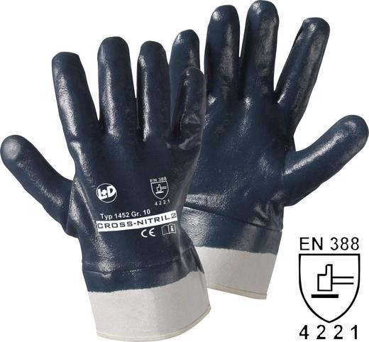 Nitrilkautschuk Arbeitshandschuh Größe (Handschuhe): 10, XL EN 388 CAT II Leipold + Döhle Cross-Nitril 1452 1 Paar