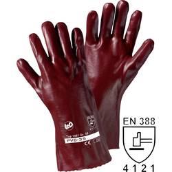Pracovní rukavice L+D PVC 1480, PVC, velikost rukavic: 10, XL