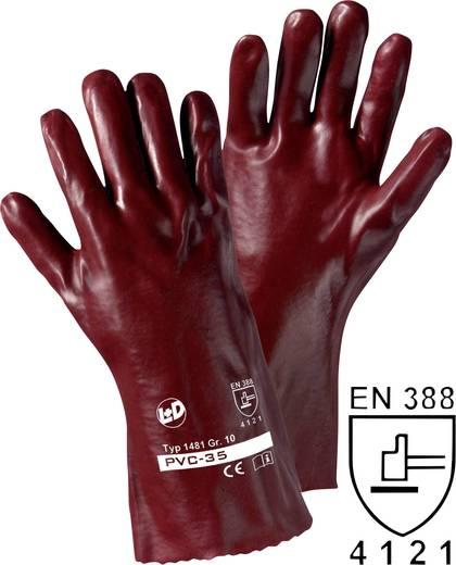 PVC Arbeitshandschuh Größe (Handschuhe): 10, XL EN 388 CAT II Leipold + Döhle PVC 1480 1 Paar