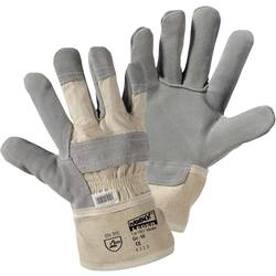 Pracovní koženné rukavice, Worky Master, velikost 10