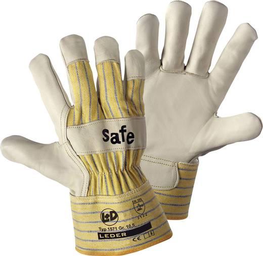 worky 1571 Handschuh SAFE Rindnarbenleder Größe (Handschuhe): 10, XL