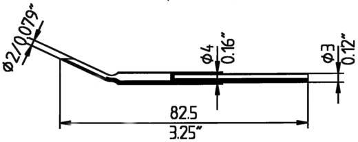 Ersa MD/SB Entlötspitze Spitzen-Größe 2 mm Inhalt 2 St.