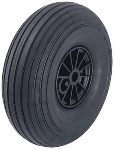 Blickle 10926 Rad mit Luftreifen und Kunststoff-Felge mit Rollenlager, Ø 260 mm Ausführung (allgemein) Luftreifen