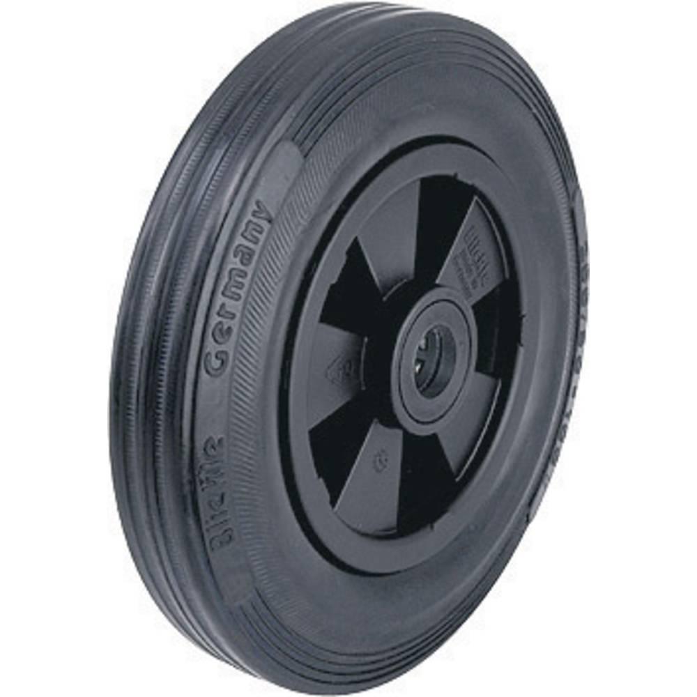 roue avec pneus en caoutchouc et jante en plastique. Black Bedroom Furniture Sets. Home Design Ideas