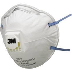 Respirátor proti jemnému prachu, s ventilem 3M 8822, třída filtrace FFP 2, 10 ks