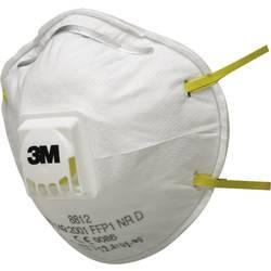 Respirátor proti jemnému prachu, s ventilem 3M 8812, třída filtrace FFP 1, 10 ks
