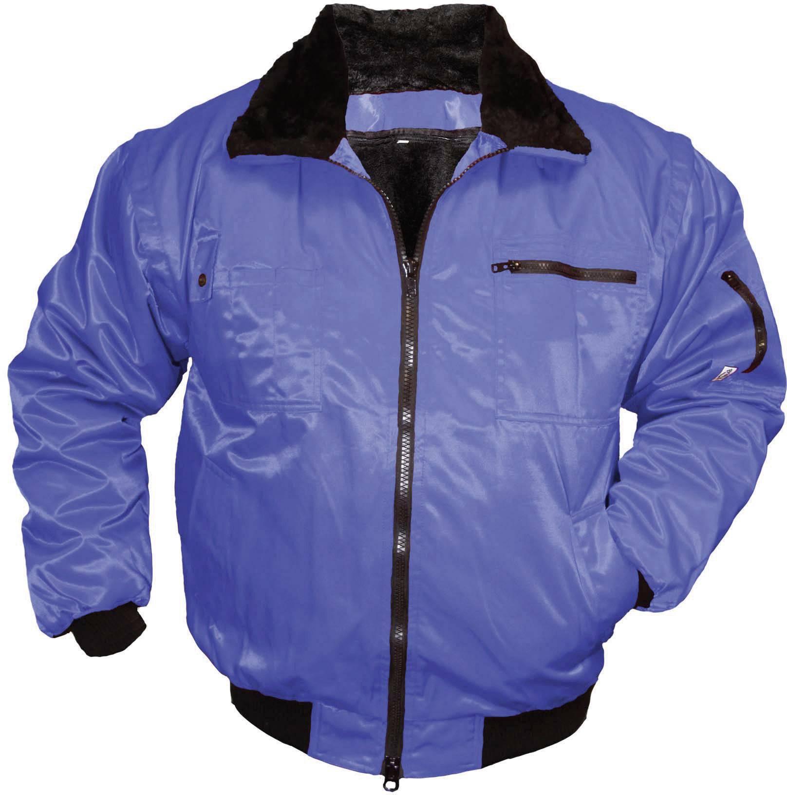 L+D worky 4112 L Forstschutz Jacke Komfort Größe: L Neongelb