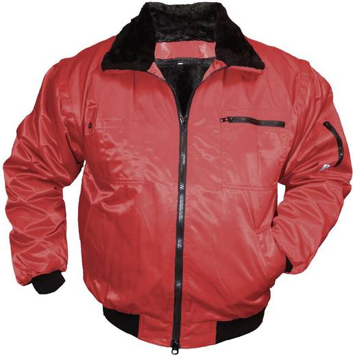 L+D Griffy 4203 4-in-1 Multifunktions-Pilotenjacke Größe: M Rot