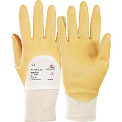 Pracovní rukavice KCL Monsun® 105, 100% bavlna snitrilovou vrstvou, velikost rukavic: 9, L