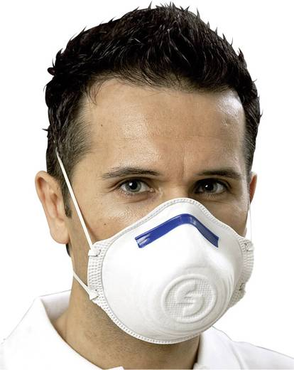 Feinstaubmaske ohne Ventil FFP2 EKASTU Sekur 411 181 12 St.