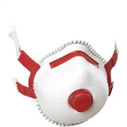 Respirátor proti jemnému prachu, s ventilem EKASTU Sekur 412 183, třída filtrace FFP3, 5 ks