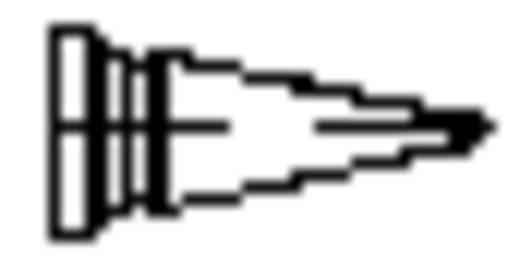 Lötspitze Rundform Weller LT-1 Spitzen-Größe 0.25 mm Inhalt 1 St.