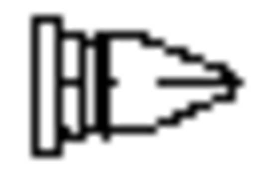 Lötspitze Meißelform, gerade Weller LT-D Spitzen-Größe 4.6 mm Inhalt 1 St.