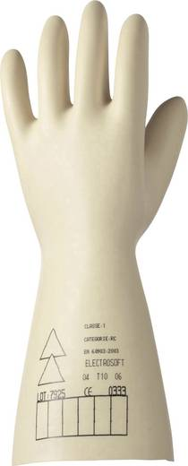 Naturlatex Elektrikerhandschuh Größe (Handschuhe): 9, L EN 388 , EN 60903 Electrosoft CLASSE 0 / 1000 V CAT. 3 T.9 209