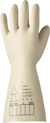 Electrosoft 2091907 Electrosoft Latex Elektrikerhandschuh 500 V Naturlatex Größe: 10