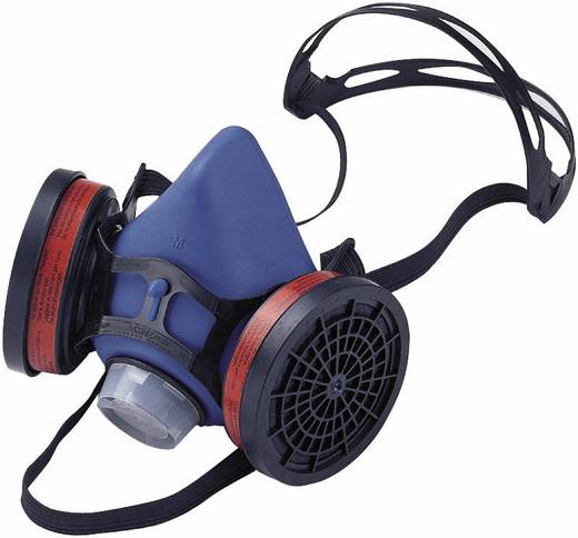 Willson Halbmaske Valuair Plus 1001573 Filterklasse/Schutzstufe: Je nach eingesetztem Filter (siehe Zubehör) 1 St.