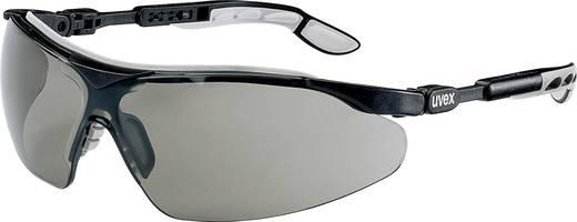 Schutzbrille Uvex I-VO SCHWARZ/GRAU 9160076 Schwarz, Grau DIN EN 166-1, DIN EN 172