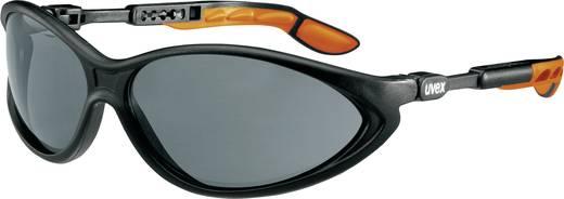 Schutzbrille Uvex CYBRIC SCHWARZ 9188076 Schwarz, Orange DIN EN 166-1, DIN EN 172