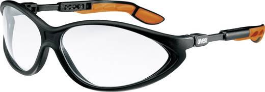Schutzbrille Uvex CYBRIC SCHWARZ 9188175 Schwarz, Orange DIN EN 166-1, DIN EN 170