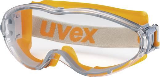 Vollsichtbrille Uvex ULTRASONIC ORANGE/GRAU 9302245 Orange, Grau DIN EN 166-1, DIN EN 170