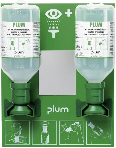 PLUM BR 318 005 Augenspulstation Model C 1000 ml