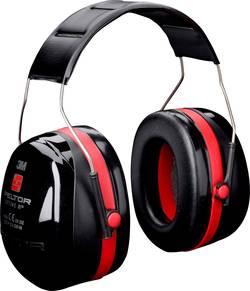 Mušlové chrániče sluchu Peltor, červená/černá