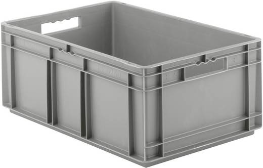 Euro-Fix-Kasten (L x B x H) 600 x 400 x 240 mm Grau EF6240 1 St.