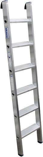 Aluminium Anlegeleiter Arbeitshöhe (max.): 2.70 m Krause Echelle simple professionnelle en alu, à 6 marches 124401 Silb
