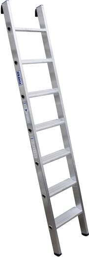 Aluminium Anlegeleiter Arbeitshöhe (max.): 2.90 m Krause Echelle simple professionnelle en alu, à 7 marches 124418 Silb