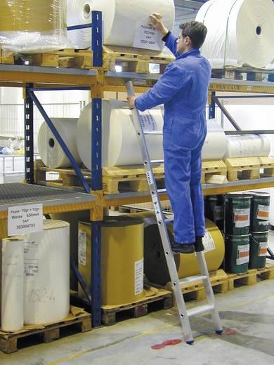 Aluminium Anlegeleiter Arbeitshöhe (max.): 3.15 m Krause Echelle simple professionnelle en alu, à 8 marches 124425 Silb