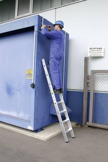 Aluminium Anlegeleiter Arbeitshöhe (max.): 3.15 m Krause 124425 Silber 4.8 kg