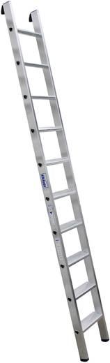 Aluminium Anlegeleiter Arbeitshöhe (max.): 3.60 m Krause Echelle simple professionnelle en alu, à 10 marches 124432 Sil