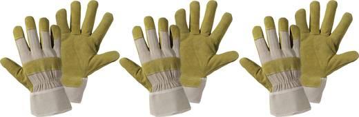 Upixx 1521-3 3er-Set Spaltlederhandschuh Spaltleder Größe (Handschuhe): 10.5, XL