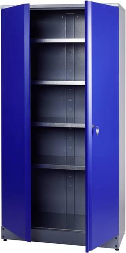 Küpper 70297 Hochschrank 2-türig blau, silber (B x H x T) 910 x 1800 x 450 mm