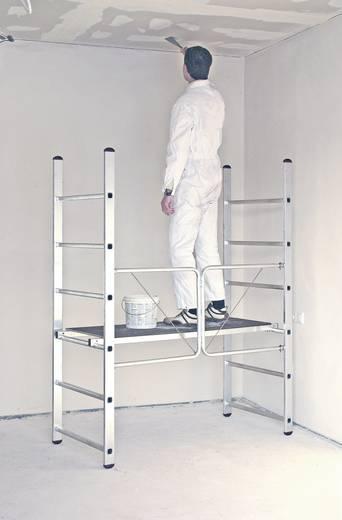 aluminium ger st fahrbar arbeitsh he max m krause 950092 silber schwarz 15 kg kaufen. Black Bedroom Furniture Sets. Home Design Ideas