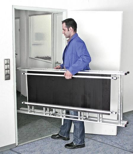 Aluminium Gerüst fahrbar Arbeitshöhe (max.): 2.80 m Krause 950092 Silber, Schwarz 15 kg