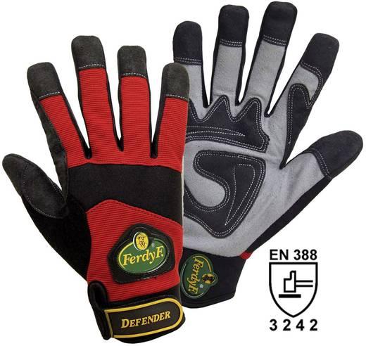 Clarino®-Kunstleder Montagehandschuh Größe (Handschuhe): 9, L EN 388:2016 CAT II FerdyF. Mechanics Defender 1935 1 Paar