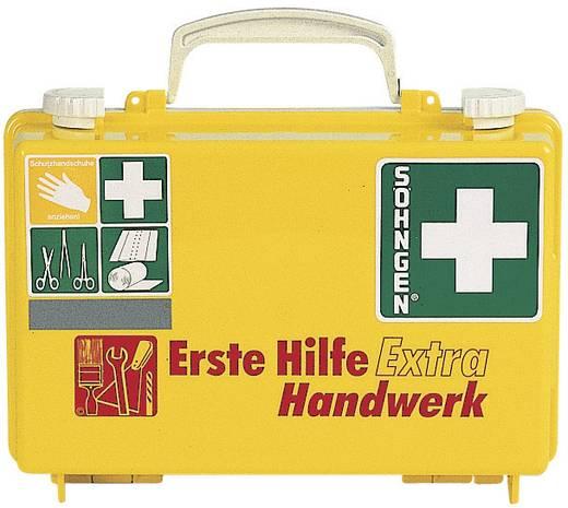 Söhngen 0320125 Erste-Hilfe-Koffer EXTRA Handwerk DIN 13157 Leucht-Gelb