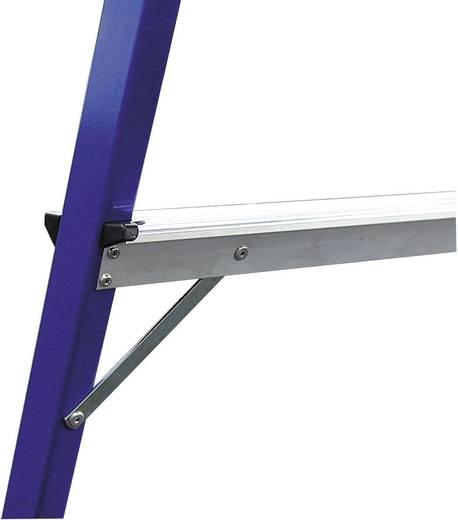Aluminium Arbeitsplattform Arbeitshöhe (max.): 2.5 m Krause MONTO® StepTop® 130099 Blau, Schwarz 9 kg