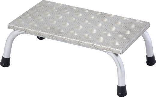 Aluminium Montagetritt Arbeitshöhe (max.): 2.20 m Krause 805010 Silber 2.4 kg